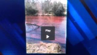 Water Turns Blood Red In Wichita Kansas (Apocalyptic Sign)