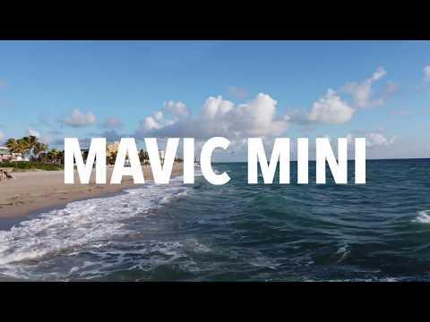 DJI MAVIC MINI AT THE BEACH!