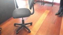 Lesson to new salesperson how to sell a chair
