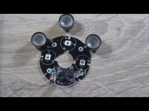Модуль инфракрасной подсветки для камеры ночного видения
