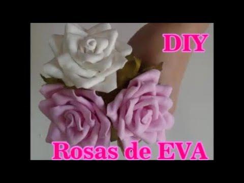 Como fazer rosas de eva - ideias para festa e aniversários