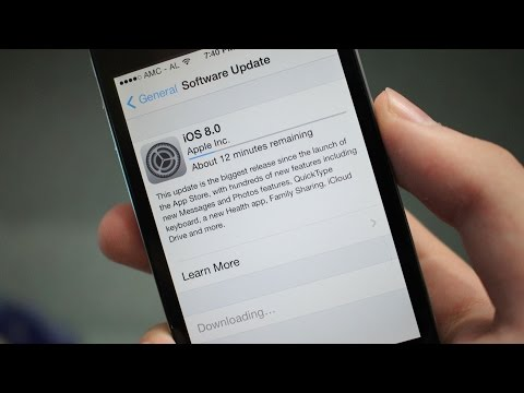 IOS 8 -  How To Download & Install Official Final Version Easy Way