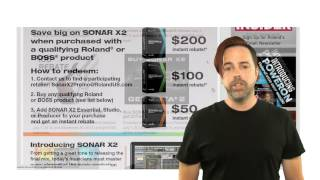 Roland Summer 2013 Promotions