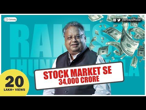 Rakesh Jhunjhunwala story: How he became billionaire by investing in stock market | हिंदी