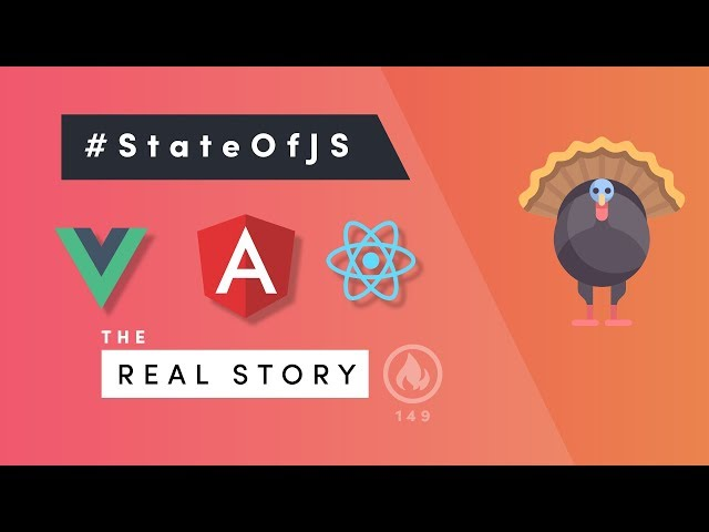 State of JavaScript - Real Analysis of Angular, React, and Vue