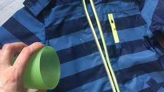 обзор детской ветровки дождевик tchibo