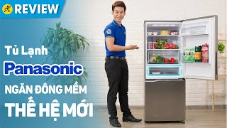 Tủ lạnh Panasonic Inverter 255 lít: ngăn đông mềm, cảm biến Econavi (NR-BV280QSVN) • Điện máy XANH