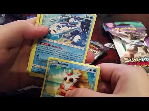 Opening pokemon cards - holographic delmise