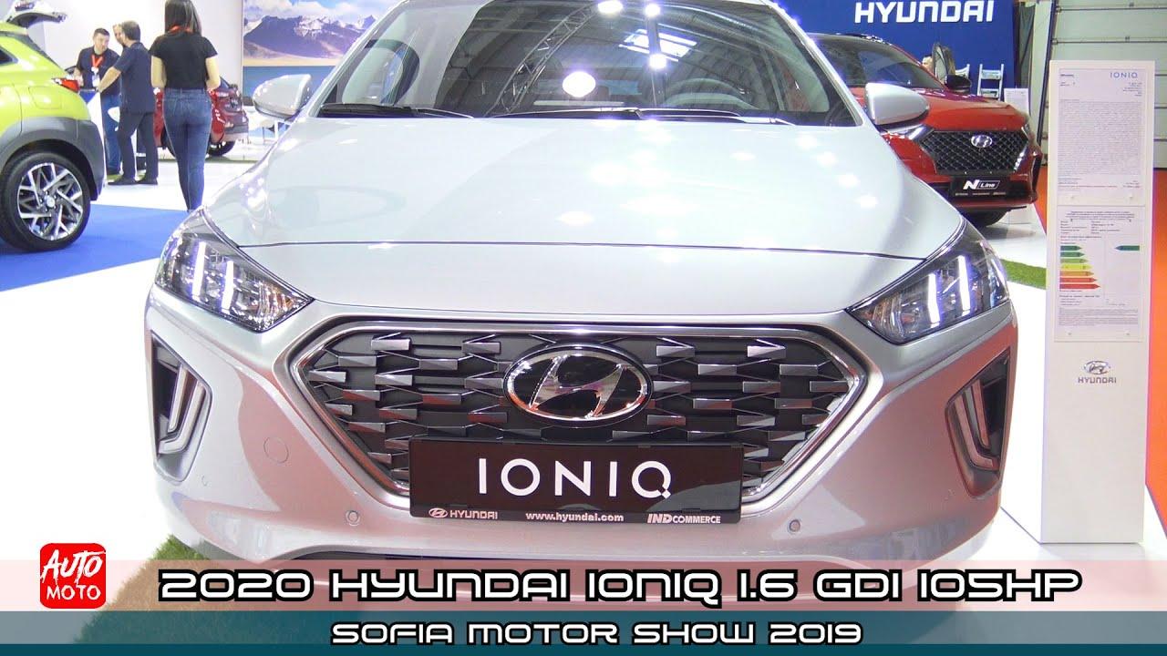 2020 Hyundai Ioniq 1.6 GDI 105hp - Exterior And Interior - SMS 2019