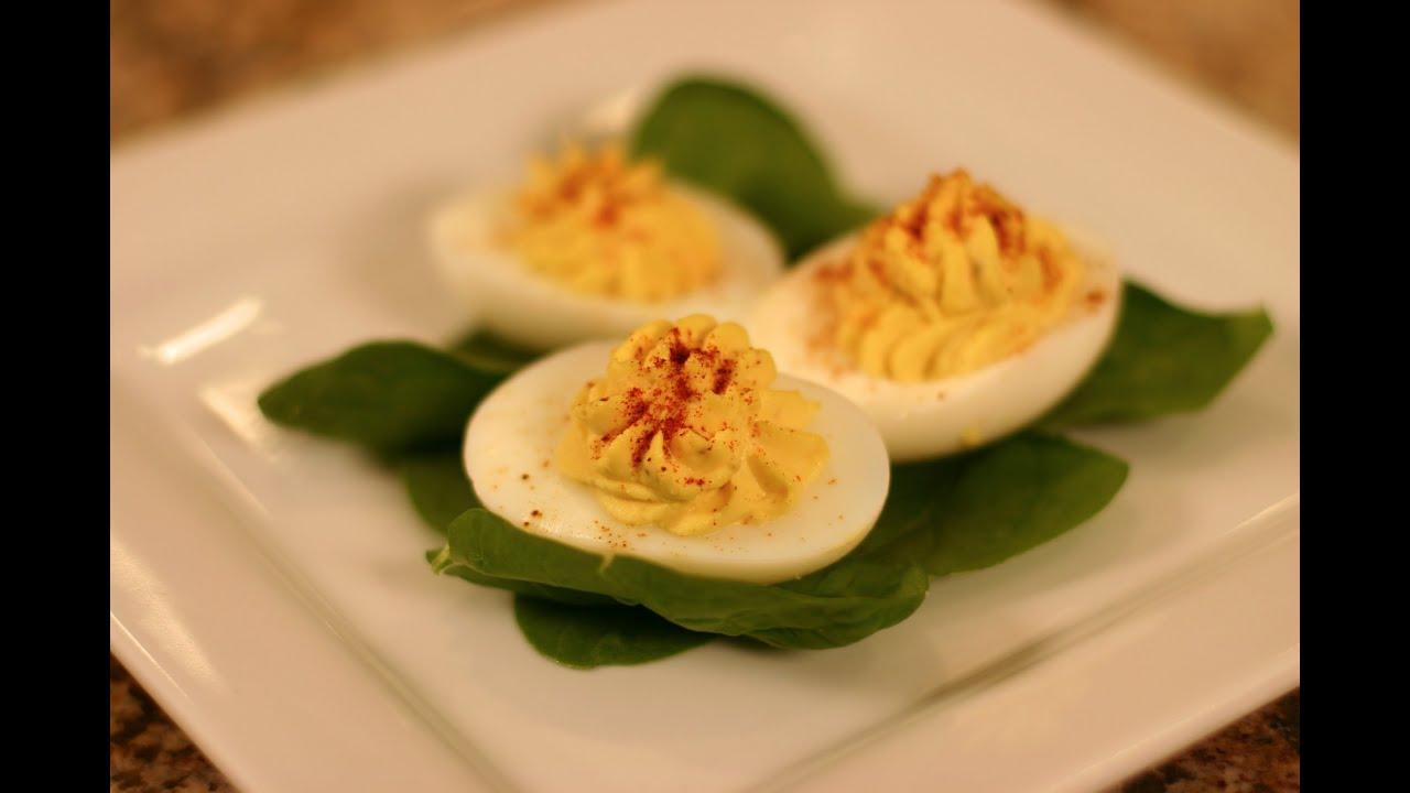 How To Make Homemade Deviled Eggs Easy Stuffed Eggs Appetizer