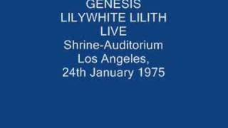 genesis- lilywhite lilith (live)
