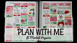 Plan With Me | ft Minted Paperie - Ninny Muggins