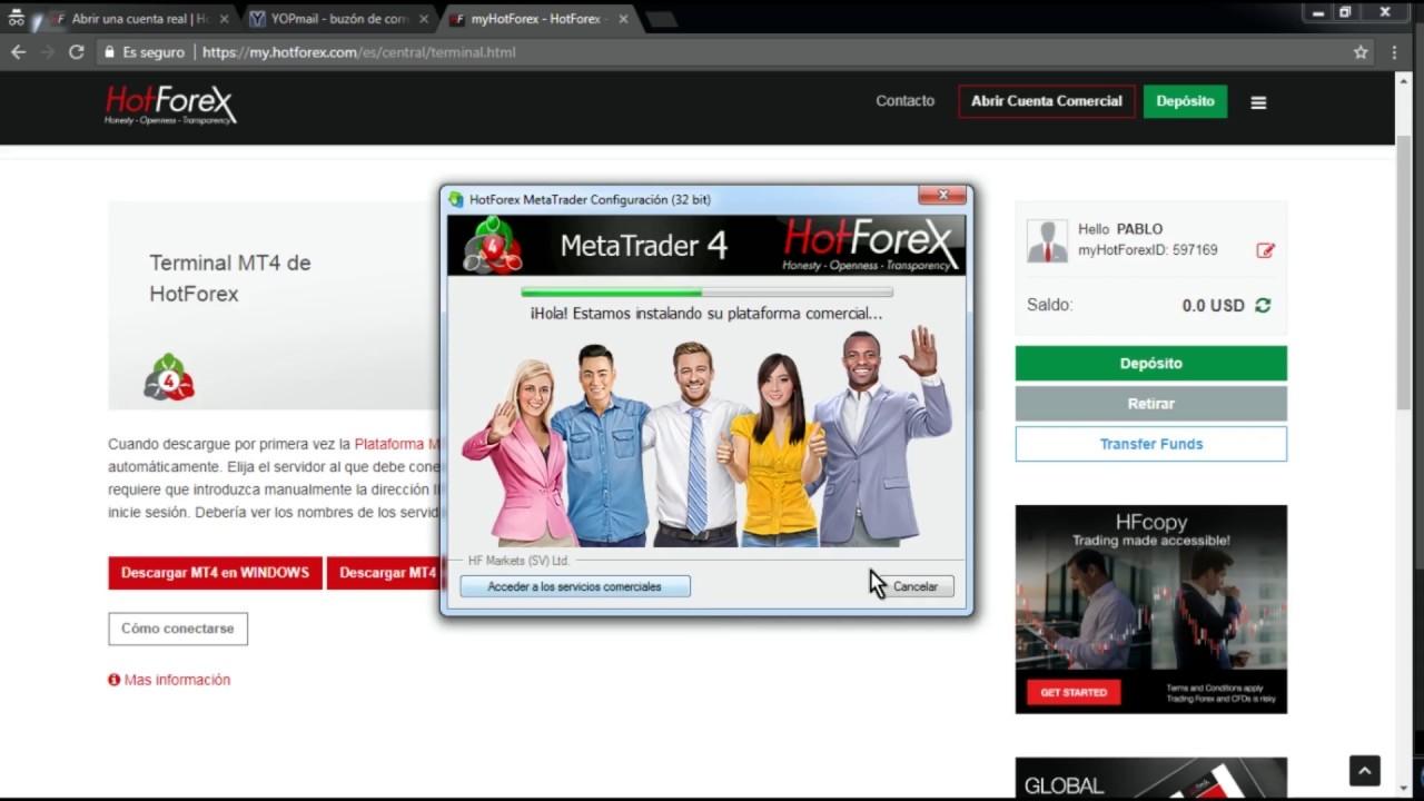 conectare online la metatrader 4)