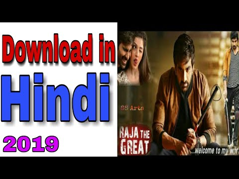 How To Download Raja The Great Hindi Dubbed 2019