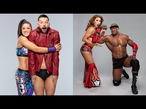 Amazing Poses of WWE Mixed Match Challenge Teams Season 2