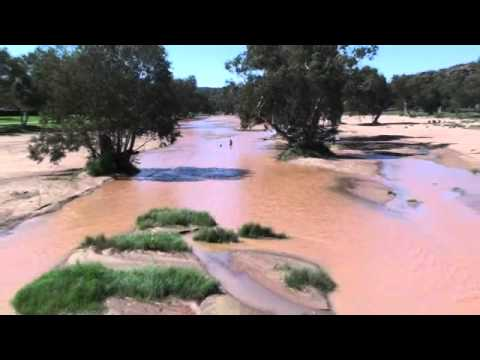 Todd River Alice Springs