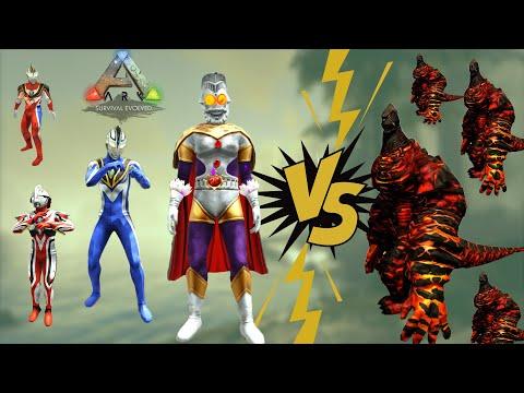 ARK - Cưỡi Ultraman chúa tể diệt Titan khủng long lửa - Khám phá thế giới siêu nhân Điện Quang|GHTG