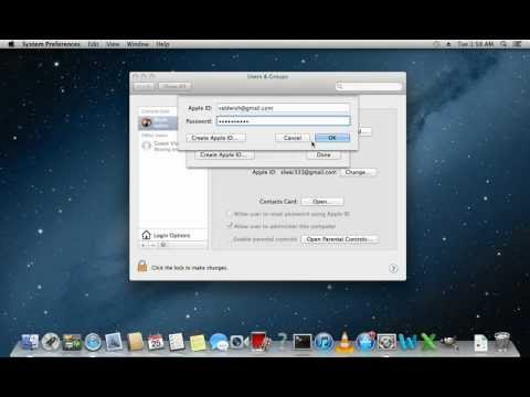 How to change apple id email address on mac