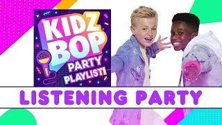 KIDZ BOP Party Playlist Listening Party - Album Available Now!