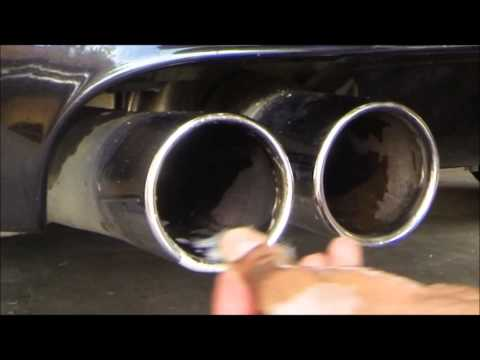 How to Clean Your Exhaust Tips BMW M5