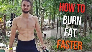 How To Burn Fat Faster | Easiest Way To Speed Up Fat Loss