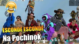 ESCONDE ESCONDE NA POCHINOK DO FREE FIRE