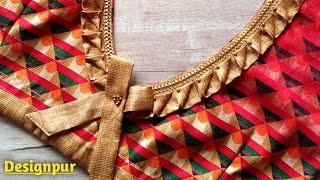 Beautiful Blouse Design || Easy Blouse Design || Simple Blouse Design || @Designpur