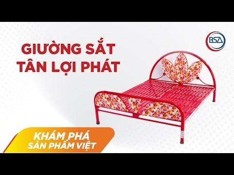 Quy trình tạo nên một chiếc giường Tân Lợi Phát | Khám phá sản phẩm Việt