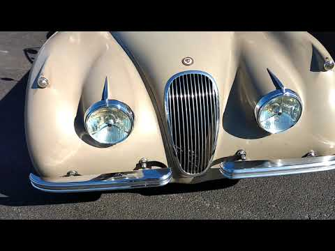 1954 Jaguar XK120 overview and walk around