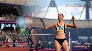Athlétisme - Terrain London 2012 The Official Video Game of the Olympic Games
