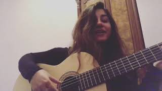 Nermin Tahirli Omuzumda Basin Eksik Guitar Cover