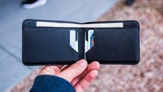Vaultskin Manhattan Slim Wallet Review - Best Minimalist Bifold Wallet?!