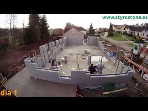 Styro Stone ICF - Time-lapse