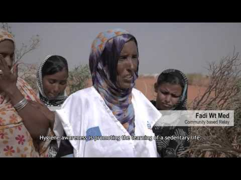 Malian refugees: Providing water and facilities