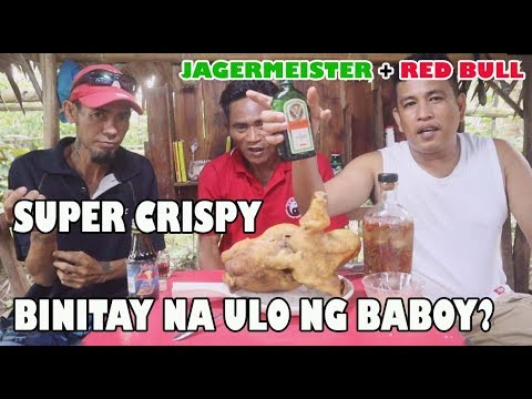 HANGED SUPER CRISPY FRIED ULO | JAGERMEISTER | RED BULL