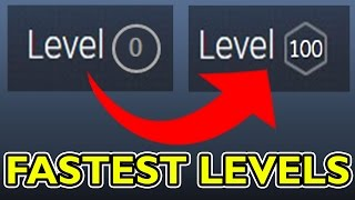 Steam rank up - level 0 to 100 (easy and fast)