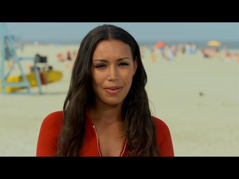 """Baywatch: Ilfenesh Hadera """"Stephanie Holden"""" Behind the Scenes Movie Interview"""