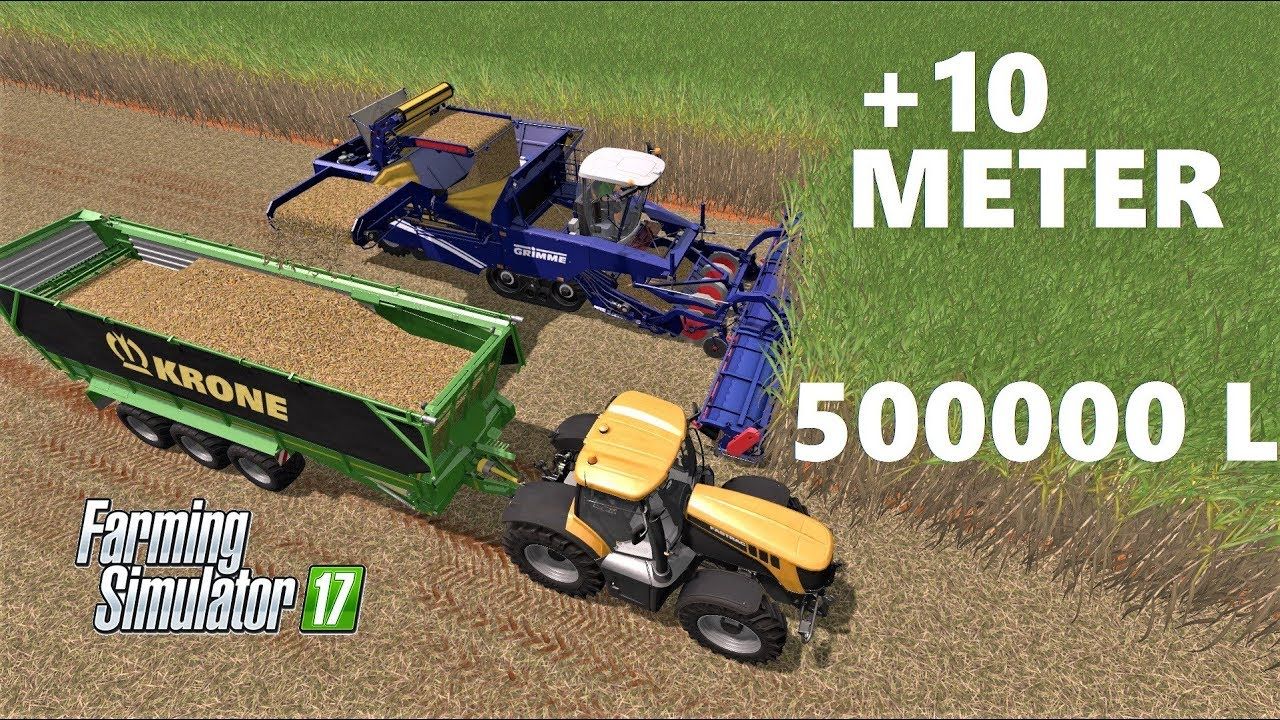 Farming Simulator 17 | +10 METER SUGAR CANE HARVESTER | Quickly & Simply &  Greatly -Grimme Tectron