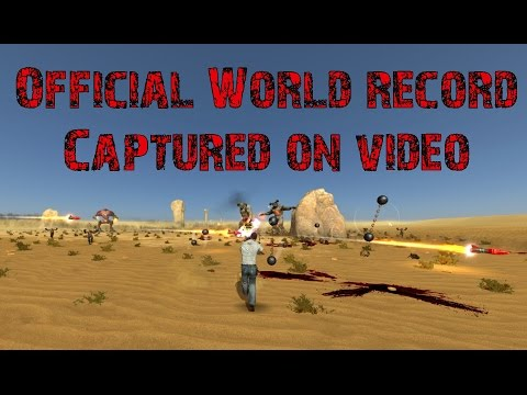 Serious Sam 3: Deserted solo Survival 11:37 Absolutely better world record !