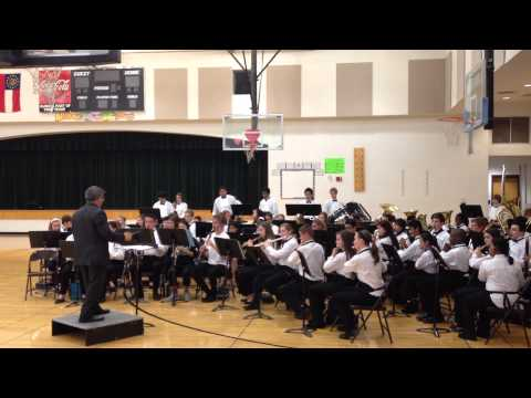 Elkins Pointe Middle School Symphonic Band 1 song 2