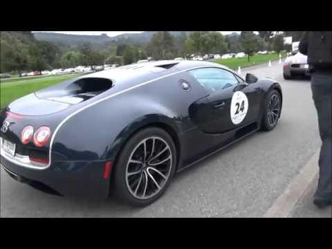 Cuộc hội ngộ hiếm hoi của 11 chiếc Bugatti Veyron