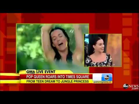 Katy Perry|Roar|Interview|2013 Official Original [HQ/HD]