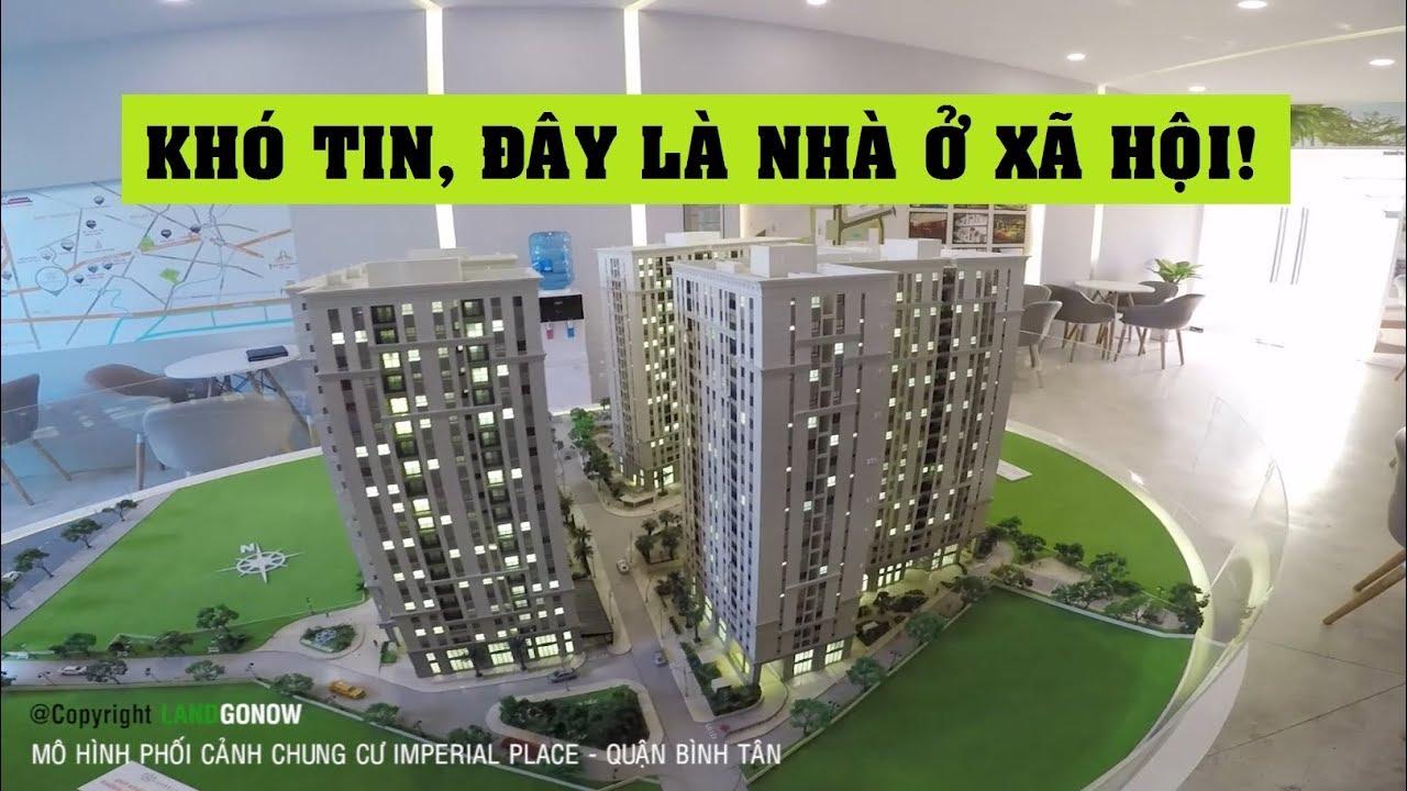 Mô hình phối cảnh chung cư Imperial Place, Kinh Dương Vương, Bình Tân – Land Go Now ✔
