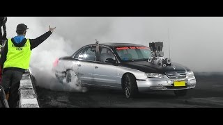 LITTLE FINALS BURNOUT AT BRASHERNATS SYDNEY 2015