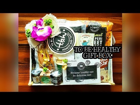 TO BE HEALTHY | TBH | NOIDA | HEALTHY FOOD | HOME DELIVERY | GIFT BOX | TREATS | PRODUCT REVIEW