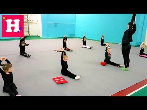 ВЛОГ. 1 день из жизни Николь. Художественная гимнастика / Танцы / Плавание / Детский садик.