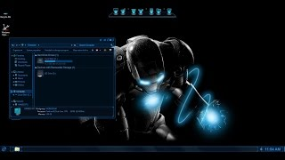 How to install Jarvis theme on Windows 7 or Windows 8 / 8.1