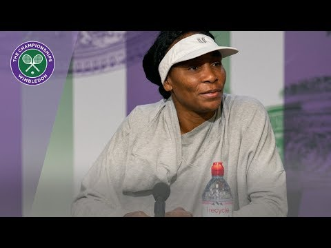 Venus Williams Wimbledon 2019 First Round Press Conference ...
