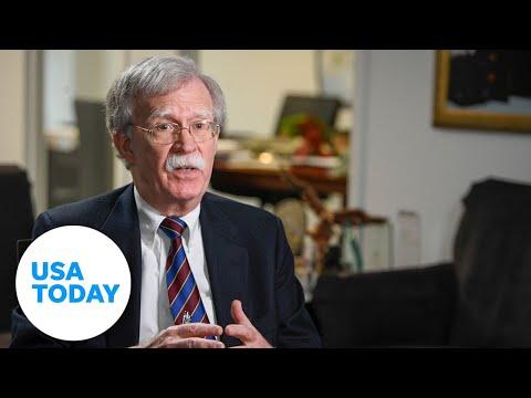John Bolton talks to USA TODAY   USA TODAY