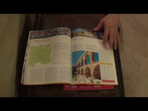 ASMR - Page turning - #59 - Travel guide books - no talking